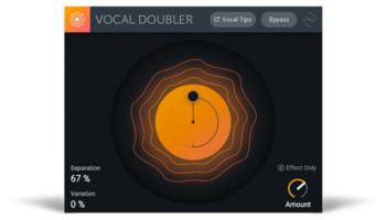 iZotope Vocal Doubler – the super simple new vocal effect plugin