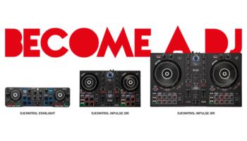 Three all-new Hercules DJ controllers aimed at the beginner DJs
