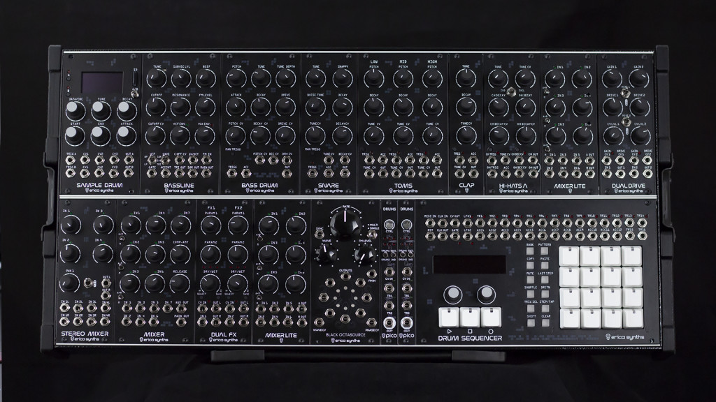 Erica Synths Techno System - Complete modular with Techno in