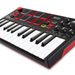 Akai MPK Mini Play MIDI controller includes internal sounds