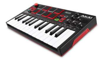 Akai MPK Mini Play MIDI controller includes internal sounds