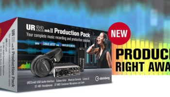 Steinberg UR22mkII Production Pack – all-in-one home studio setup