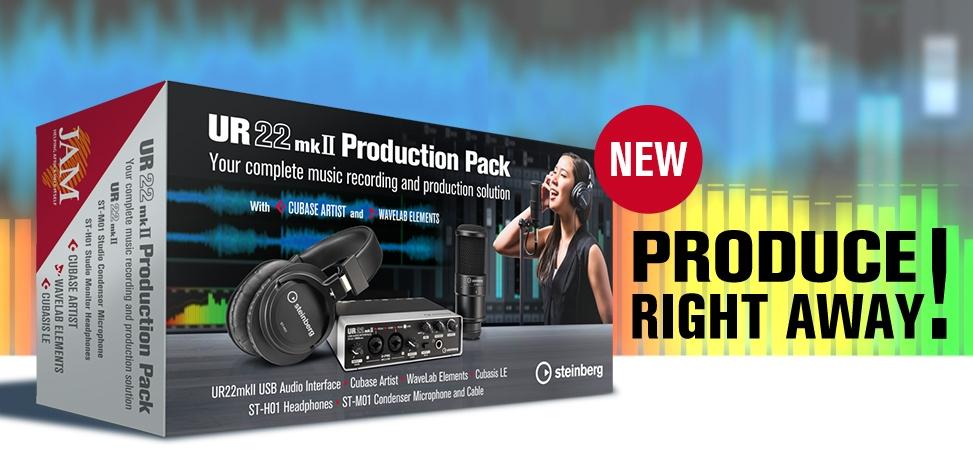 Steinberg UR22mkII Production Pack