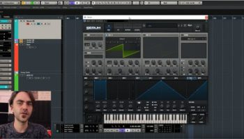 Using white noise as a modulation source to create randomness