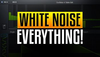 One of the many creative uses of white noise in sound design…