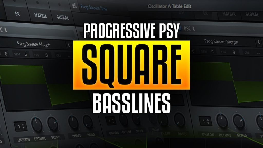 square-wave bass
