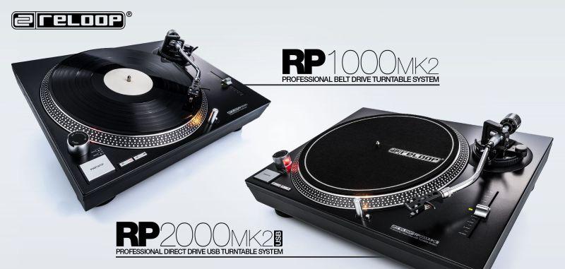 Reloop DJ Turntables