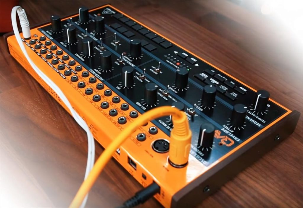 Behringer Crave Is A New Powerful New Compact Semi Modular