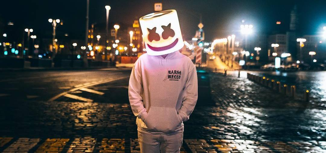 Marshmello is playing a virtual show inside Fortnite this