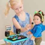 "Move over Barbie, My Life As DJ play set on Amazon let's your child play ""DJ DJ"""