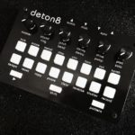 Twisted Electrons deton8 is a compact 8-voice drum machine