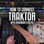How to connect Traktor with hardware synthesizers in a live setup
