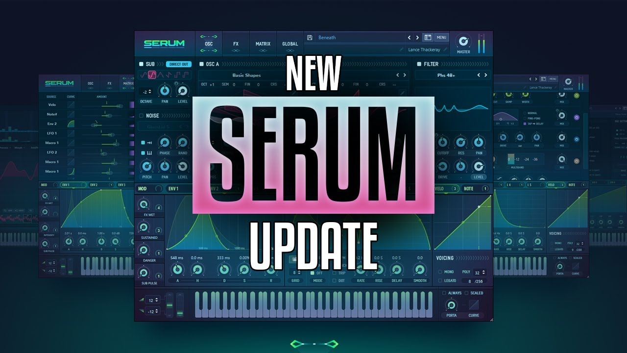 Latest xFer Serum update adds a bunch of new filters and more!