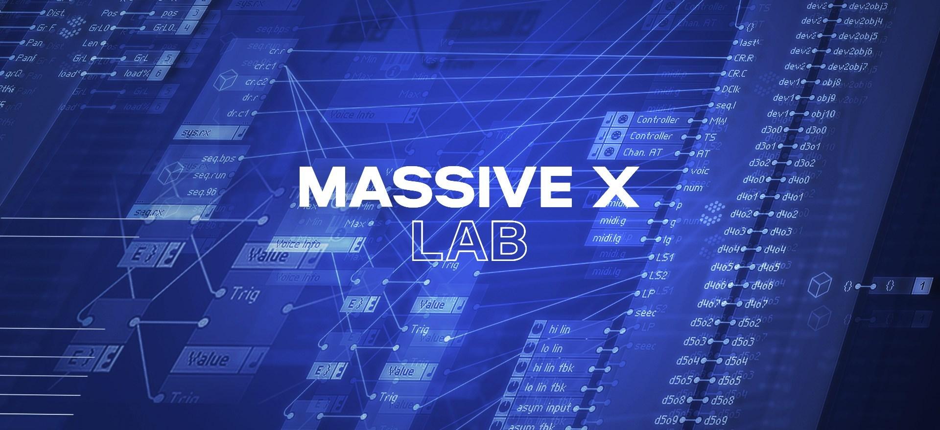 Native Instruments Massive X teasers revealed