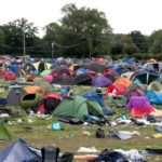 Disposable tents to be banned at UK Festivals