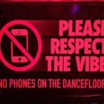 Should dancefloor privacy be upheld by banning phones?