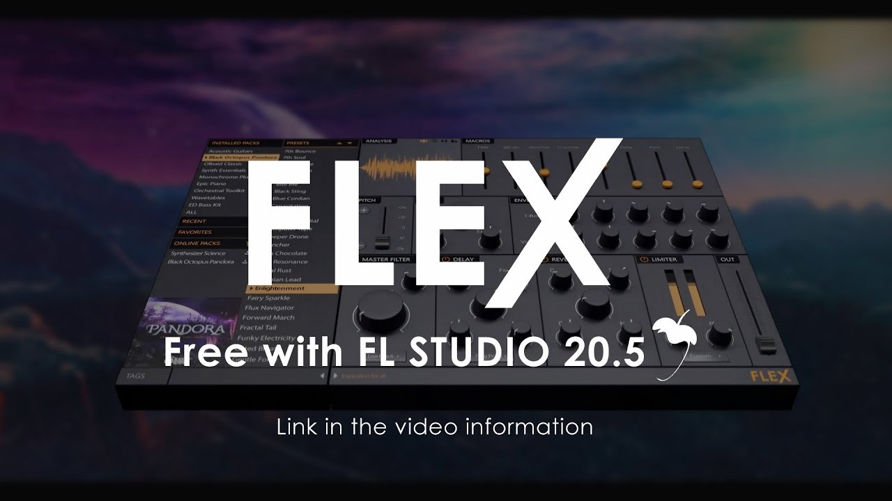 FL Studio Flex - a new synthesizer included in ver  20 5