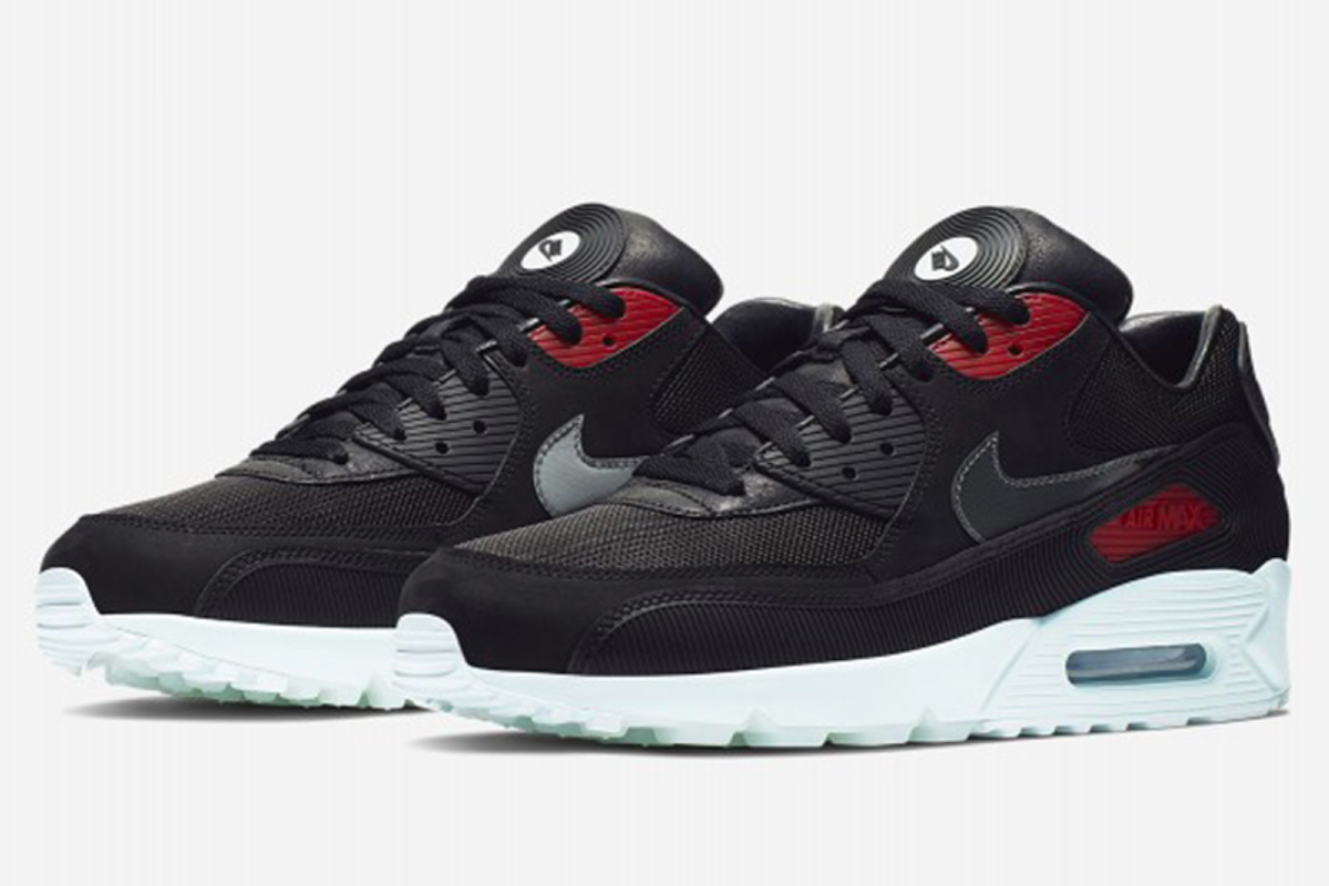 57b7bb722f0e4 Take a sneak-peak at Nike's vinyl-inspired Air Max 90