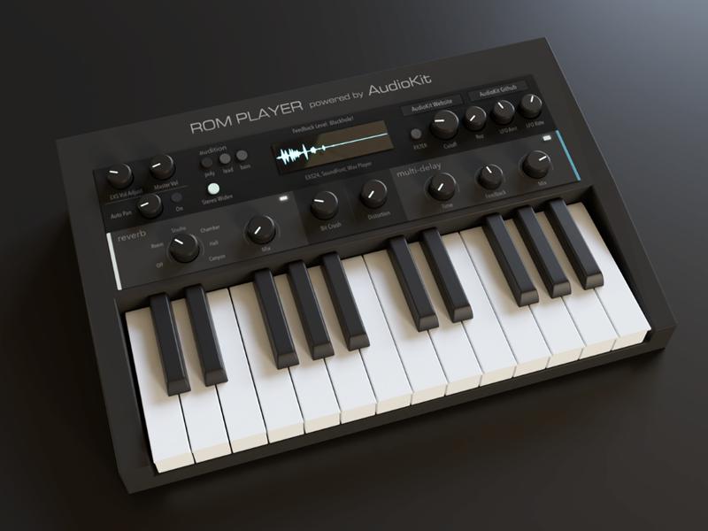 AudioKit FM Player 2