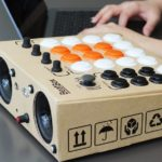 Beatbox – a do-it-yourself drum machine in a cardboard box