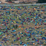 Environmental group calls for festival tent tax