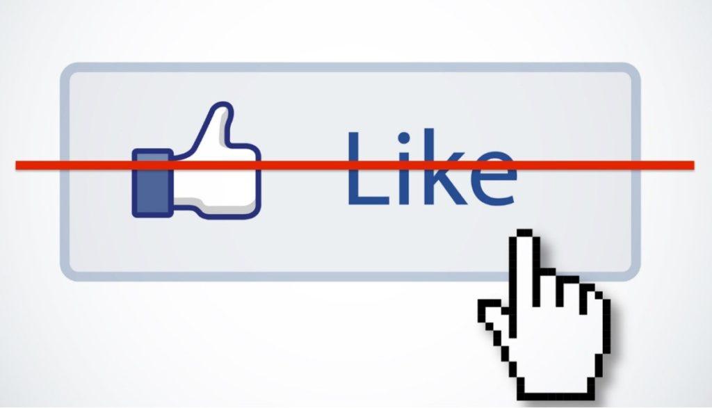 Facebook likes hidden