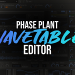 Importing Samples into Kilohearts Phase Plant wavetable editor