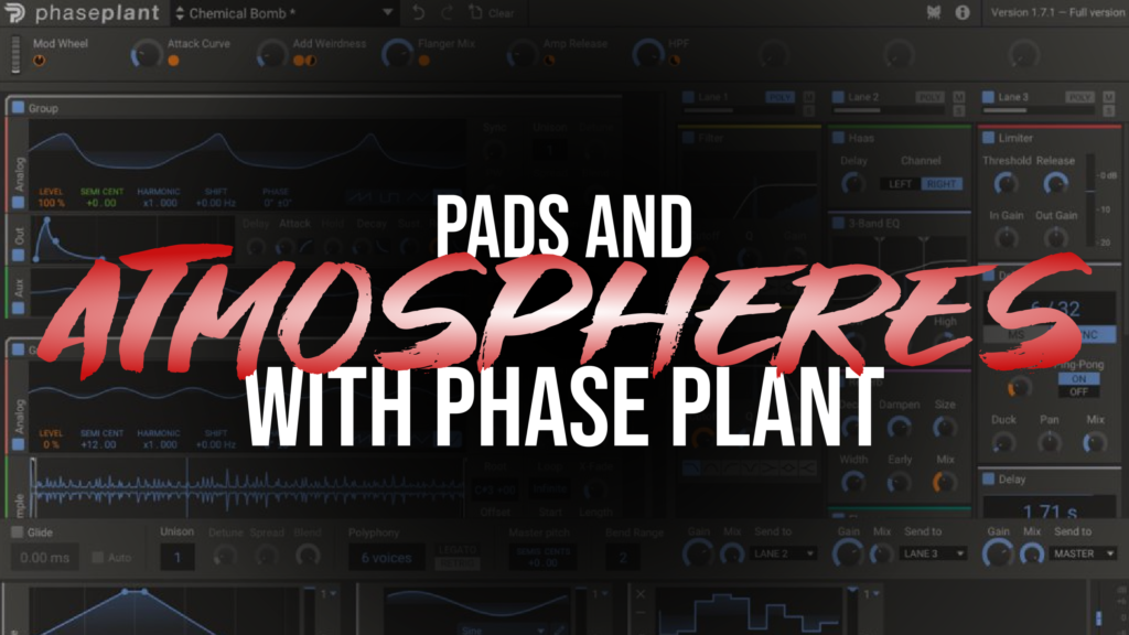 Pads and Atmospheres