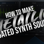 Creating gated metallic textures in Serum using FM and Sync