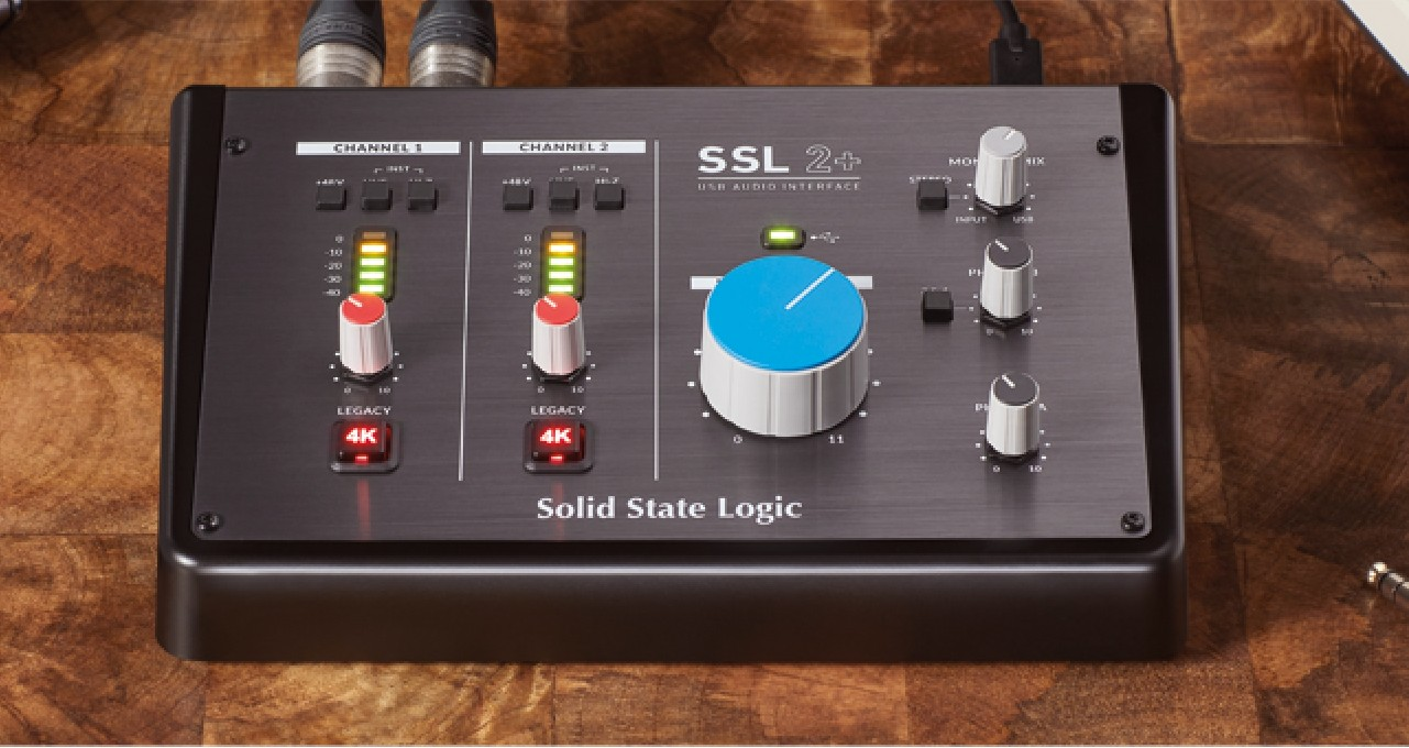 SSL 2 audio interfaces