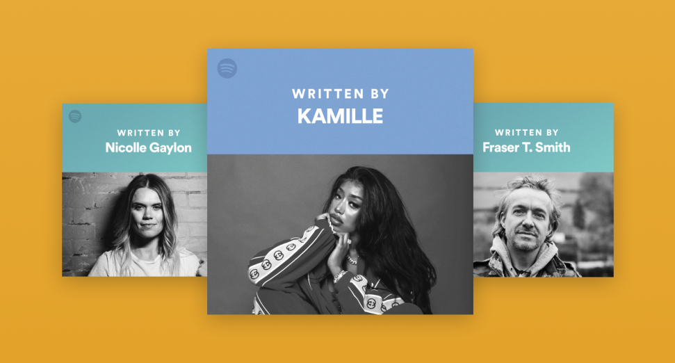 Spotify launches Songwriter Pages