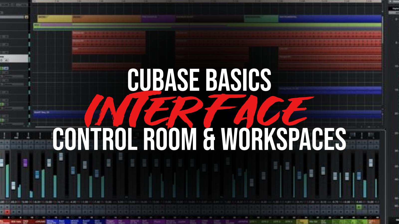 Cubase Control Room