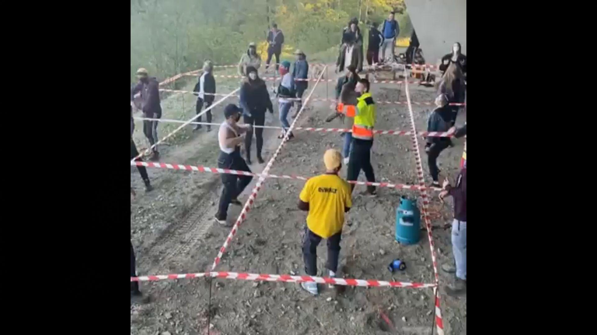 Slovakian Social distancing rave