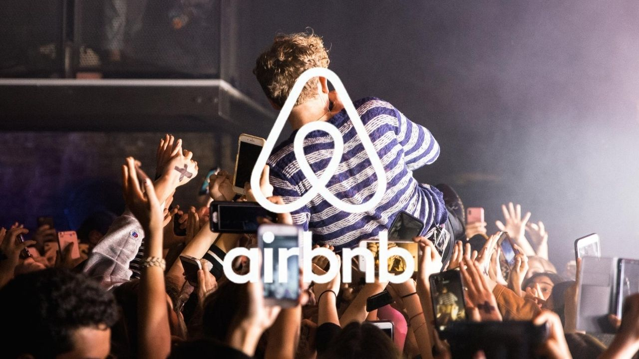 Airbnb bans house parties