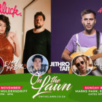 ON THE LAWN this weekend features Matthew Mole and GoodLuck together onstage