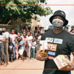 Shimza hands out 400 pairs of shoes to schoolkids in need