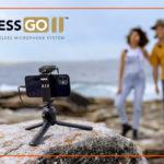 RØDE Wireless GO II is the world's smallest wireless MIC