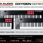 M-Audio Oxygen is a new series of keyboard controllers